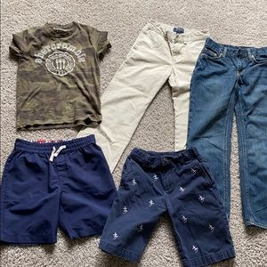 Great lot of name brand boys 8 clothes!!